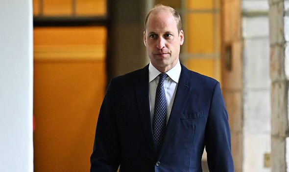 Prince William said the interview should not be broadcast again