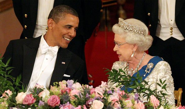 barack obama queen elizabeth ii
