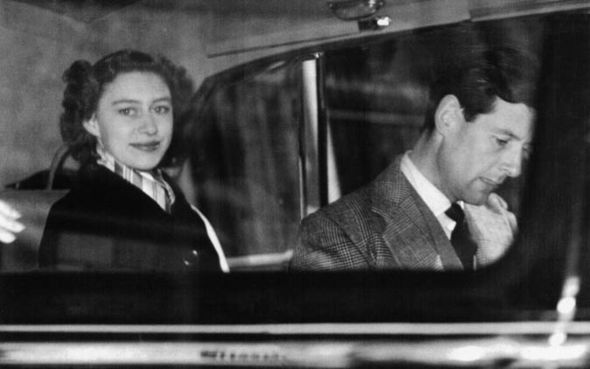 Princess Margaret and Captain Townsen