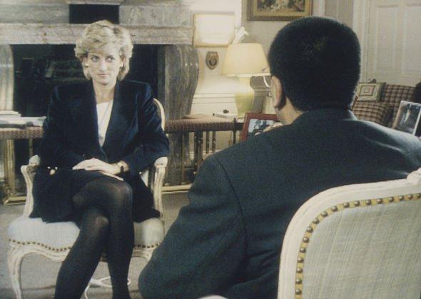 princess diana speaking to martin bashir
