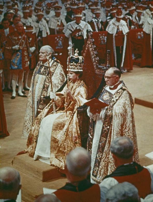 Queen Elizabeth II's coronation
