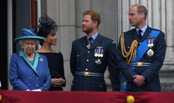 queen prince harry meghan william