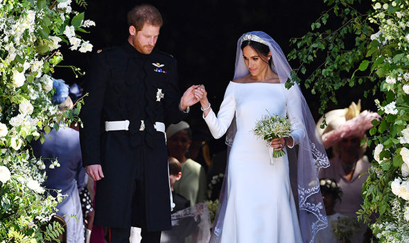 thomas markle meghan markle prince harry royal wedding 2018