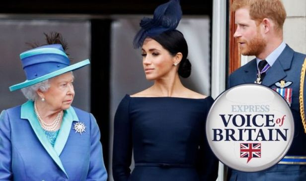 Meghan Markle and Harry should NOT be allowed on balcony with Queen at Trooping the Colour