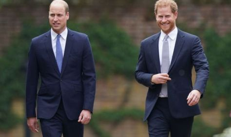 'Eager to take part!' Harry and William set to be reunited at upcoming Diana Award's event