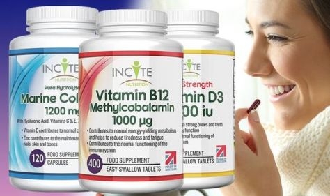 'I can't remember the last time I felt unwell' - save 20% on Incite vitamins on Amazon