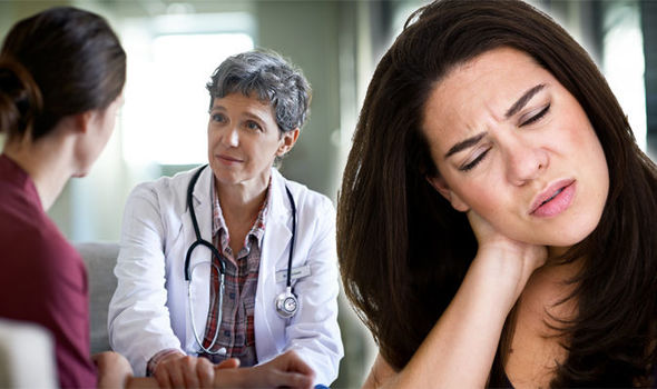 Fibromyalgia patients experience widespread pain, particularly in the back and neck