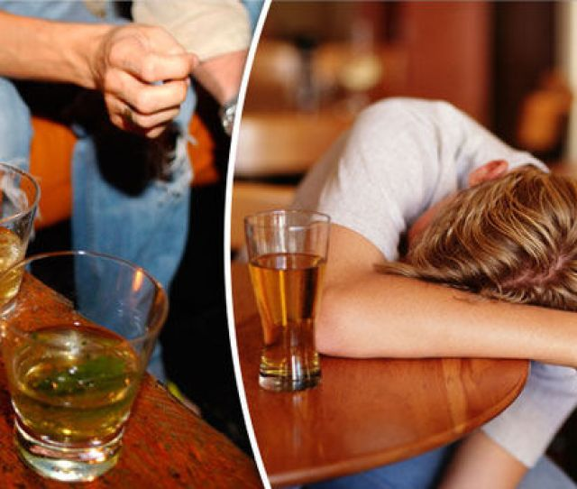 Young People Drinking Alcohol