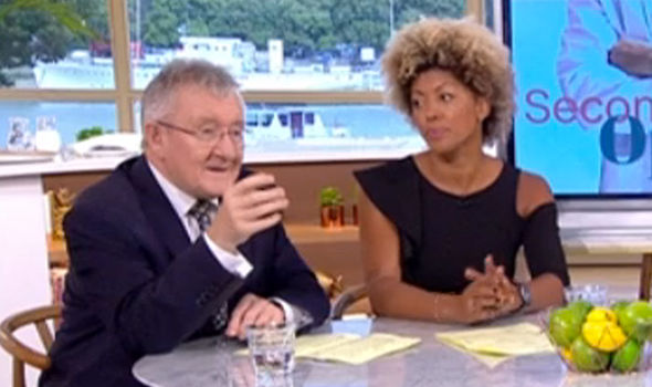 Arthritis symptoms: Dr Chris Steele appeared on This Morning