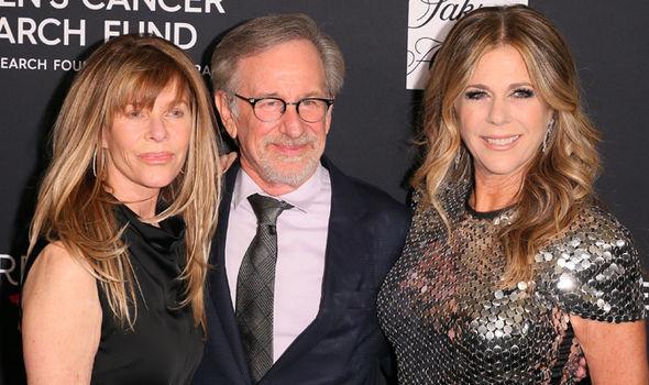 Kate Capshaw, Steven Spielberg and Rita Wilson