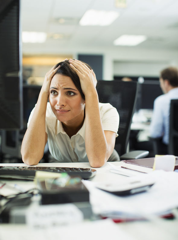 Image result for stressed out worker