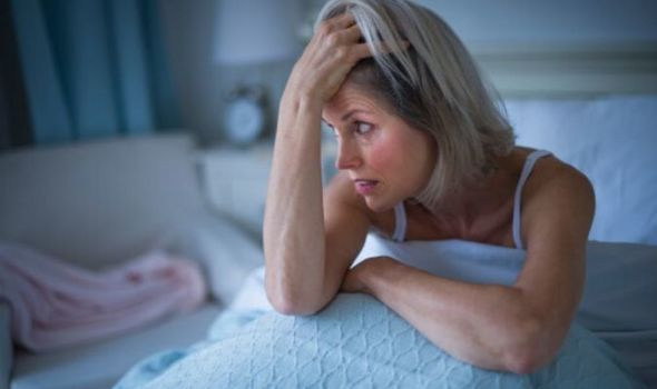 Sleep: Woman struggling to sleep