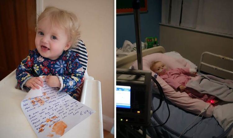 1128171 Cystic fibrosis scandal: Little Eve makes 65 roses in plea for life-saving drugs