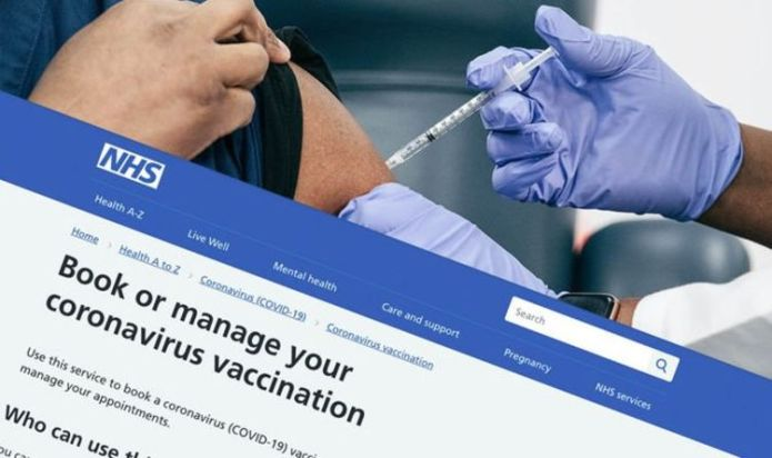 How to book a Covid vaccine – NHS invites over 45s to have their jab