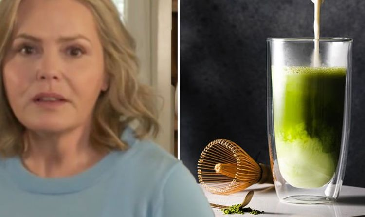 Swap out your daily cup of tea or coffee for matcha tea to boost your health - Liz Earle