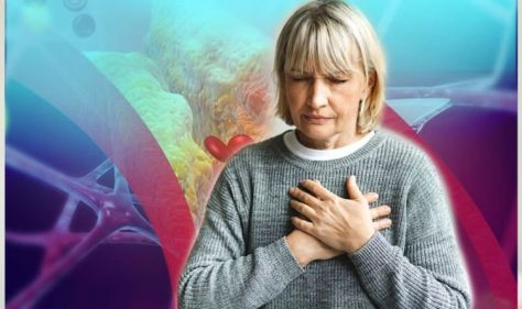 High cholesterol: Warning found in pain felt in two areas indicating levels are too high
