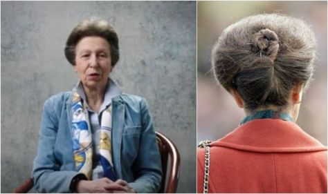 Anne's hair hasn't changed in 53 years - royal sticks to 'brushed back' style of her youth