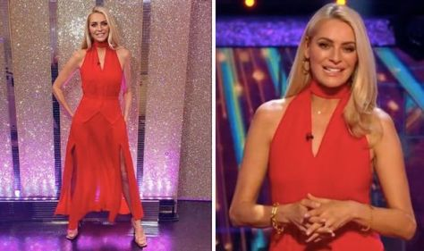 Strictly Come Dancing: Tess 'rocking it' in bright red while Claudia's outfit divides