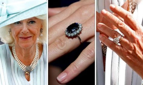 Camilla has 'traditional' engagement ring from Charles while Diana's was 'unexpected'