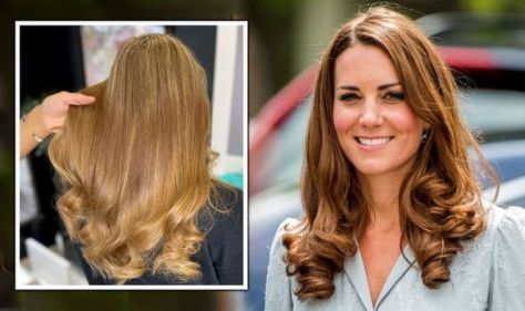 I got hair like Kate Middleton - 'Supernatural' hair extensions to look like the Duchess