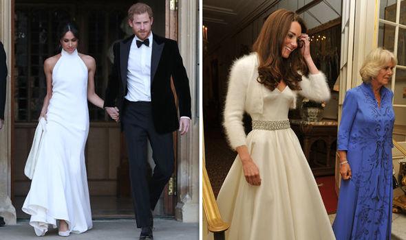 Meghan Markle reveals second royal wedding dress as she ...