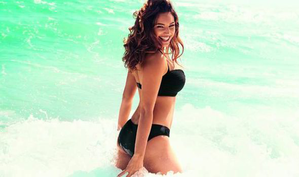 Kelly Brook Launches Fourth New Look Swimwear Range Which