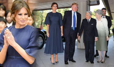 Melania Trump Japan