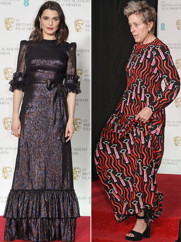 baftas 2018 not black style pictures