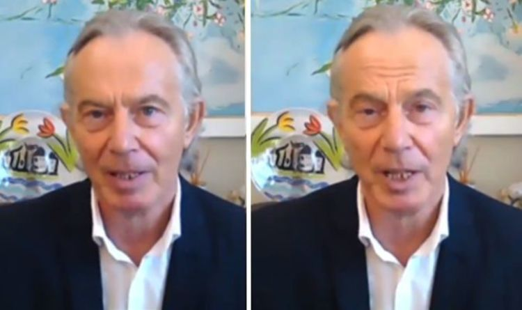 Twitter erupts over Tony Blair's new mullet hairstyle: 'Astonishing' and 'unjustifiable'