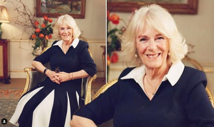 Camilla, Duchess of Cornwall's first image after Philip funeral: 'Stupendously beautiful'