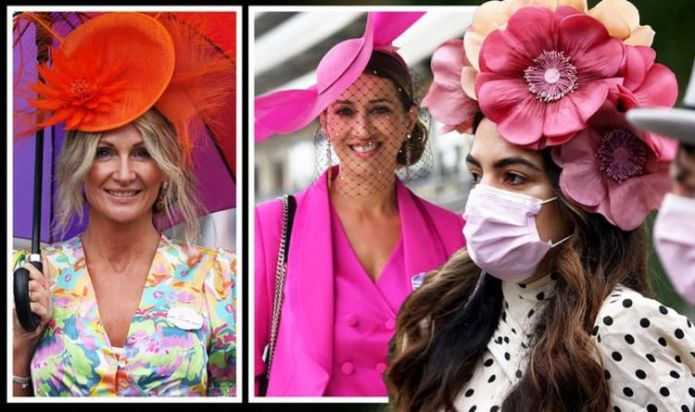 Royal Ascot 2021: Guests stun in bold hats for day four - giant flower hat leads