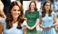 How did size six Kate Middleton achieve her tiny waist at Wimbledon – does she diet? 1154385 1