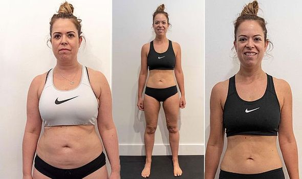 Weight reduction shock: Girl shed 3st and carved toned abs in simply eight weeks with this eating regimen