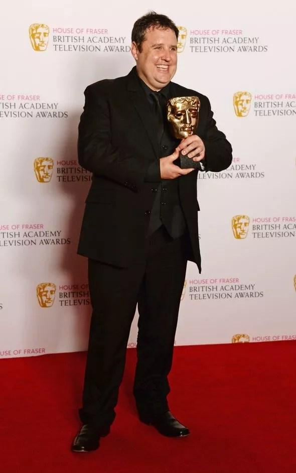 Peter Kay at the BAFTAs