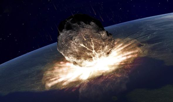 ASTEROID WARNING Planet earth faces 100 YEARS of killer
