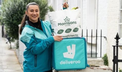 Delivery giant launches rapid grocery service with Morrisons - delivery in 10 minutes