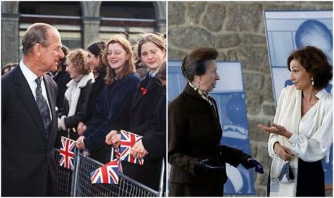 Princess Anne's 'curious' body language mimics Prince Philip in 'landmark' royal outing