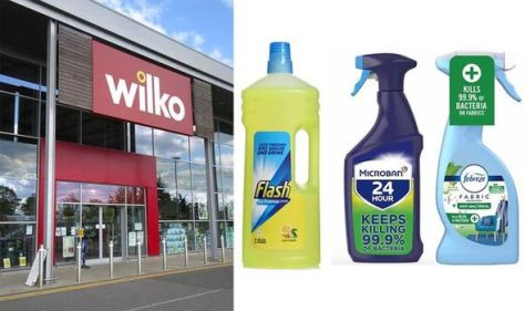 Wilko slashes prices on Mrs Hinch's favourite cleaning products - starting from £1