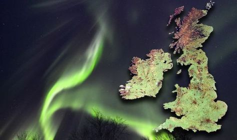 Northern Lights location: Six BEST places to see aurora borealis in the UK TONIGHT