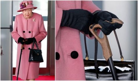 'I'm worried': Queen given warning by royal fans after using walking aid - 'use properly!'