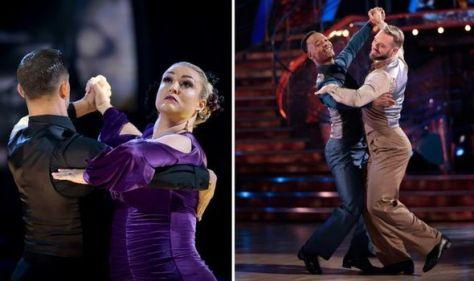 Strictly's Sara & Aljaz top leader board but John & Johannes 'compelling' in 'best dance'