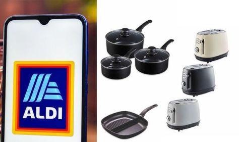 Aldi launches kitchen essentials range for under £20