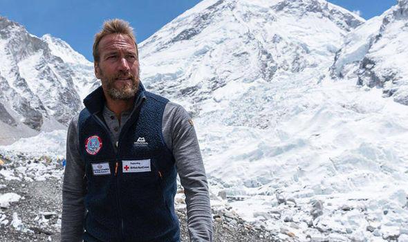Ben Fogle on Everest