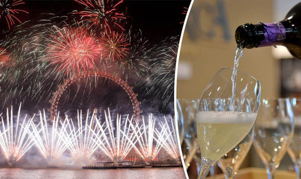 REVEALED  Prosecco more popular than champagne on NYE   Express co uk New Year s Eve celebrations in London and prosecco