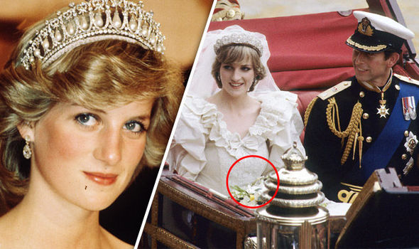 Princess Diana Spilt This On Her Wedding Dress Did You Manage To Spot It