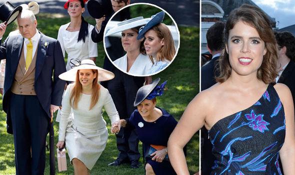 Princess eugenie royal ascot sarah ferguson