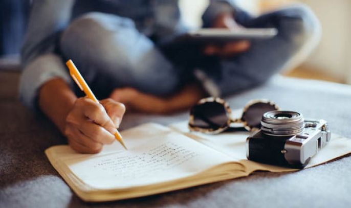 Image result for writing a diary