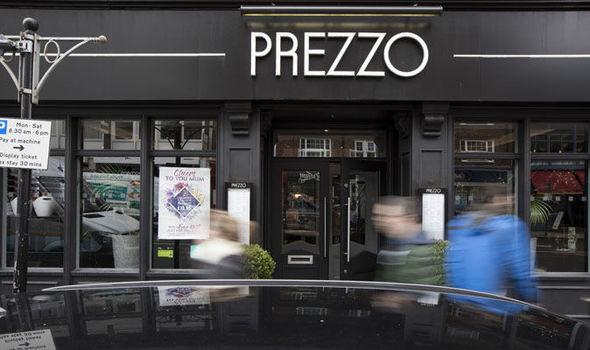 Prezzo restaurants closing across the UK: Is YOUR local ...