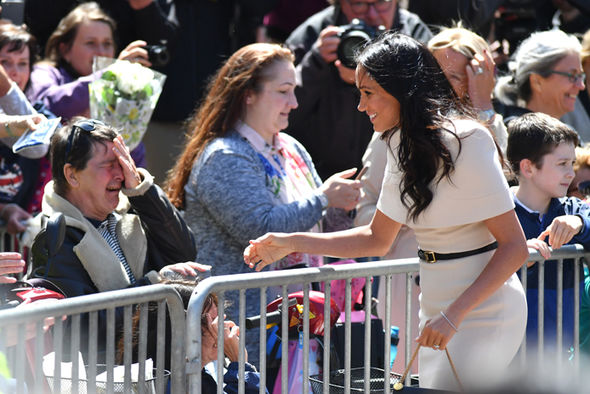Meghan markle british accent greeting