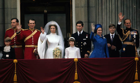 Princess Anne and Mark Phillips